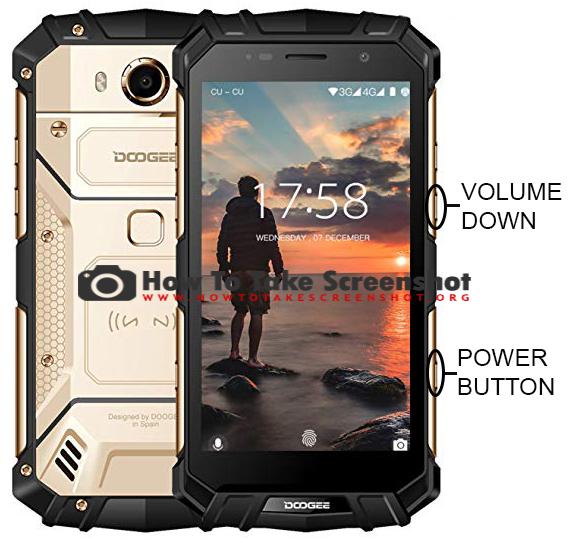 How to Take Screenshot on Doogee S60, 4G Rugged Phone