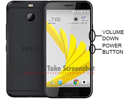 How to Take Screenshot on HTC 10 Evo