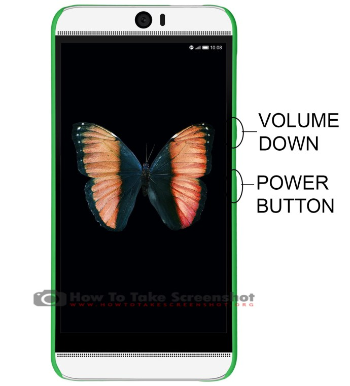 How to Take Screenshot on HTC Butterfly 3