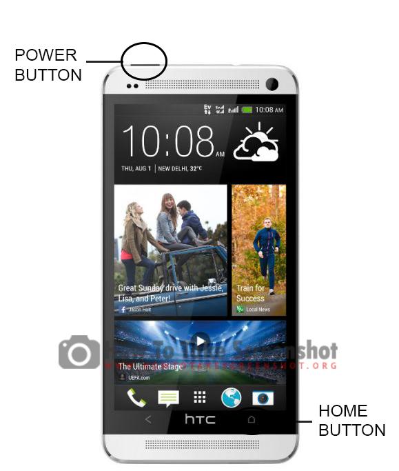 How to Take Screenshot on HTC One M7