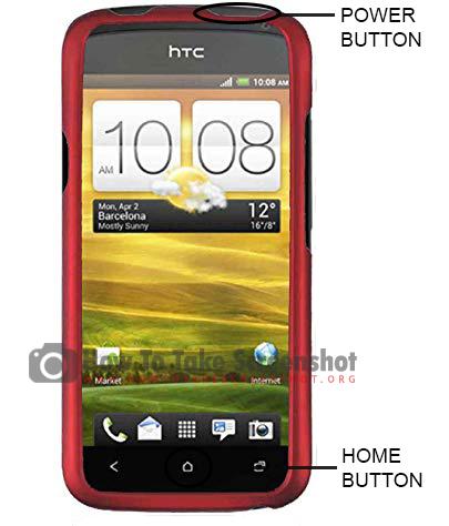 How to Take Screenshot on HTC One X