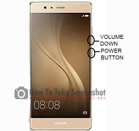 How to Take Screenshot on Huawei P9