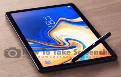 How To Take Screenshot On Samsung Galaxy Tab S6