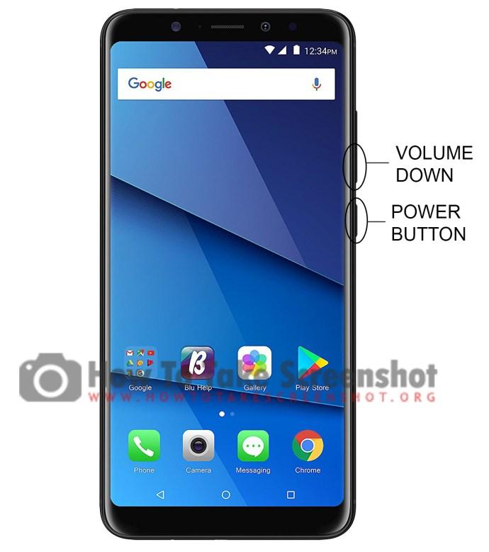 How to take Screenshot on BLU Vivo XL3 Plus