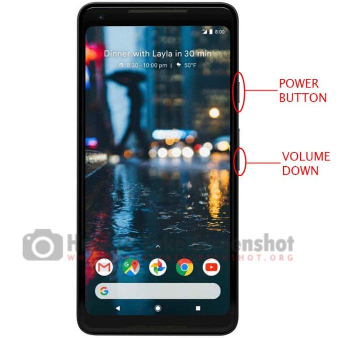 How to take Screenshot on Google Pixel 3