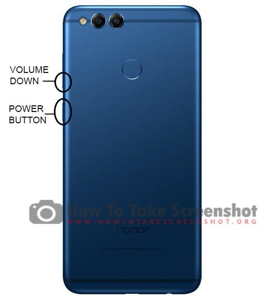 How to take Screenshot on Huawei Honor 7X