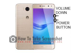 How to take screenshot on Huawei Y5 Prime