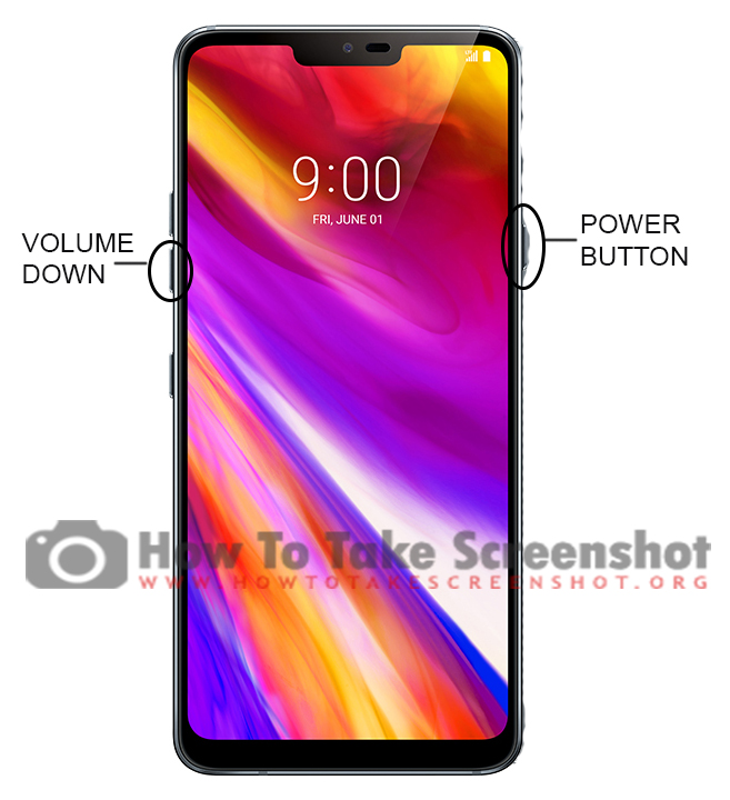 How to take Screenshot on LG G7 ThinQ