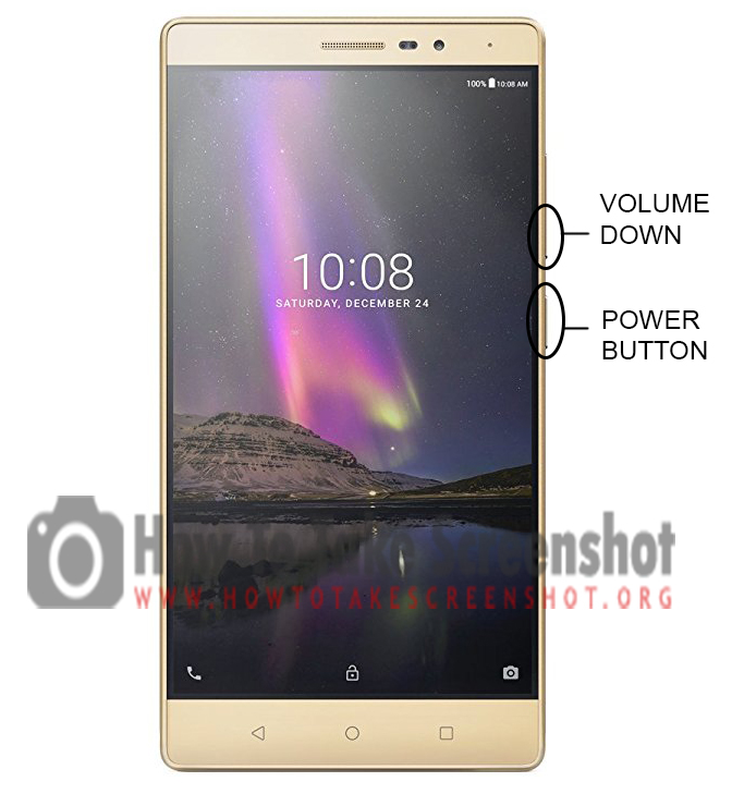How to take Screenshot on Lenovo Phab 2