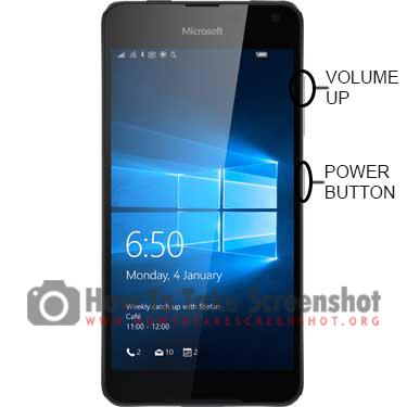 How to Take Screenshot on Microsoft Lumia 650