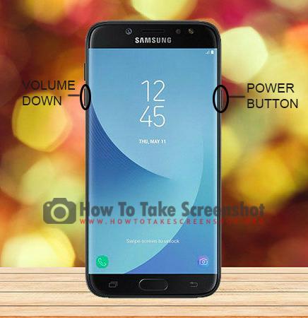 How to take Screenshot on Samsung Galaxy J8 (2018)