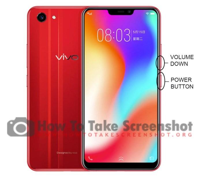 How to take Screenshot on Vivo Y83