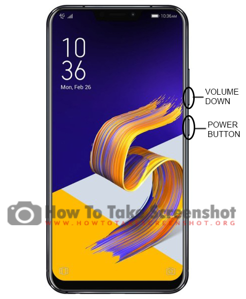 How to take Screenshot on Asus ZenFone 5Z