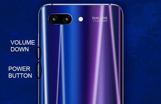 How to take Screenshot on Huawei Honor 10
