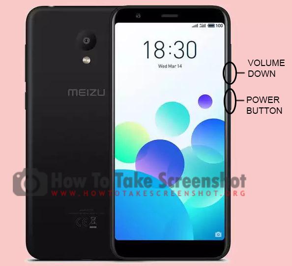 How to take Screenshot on Meizu M8c