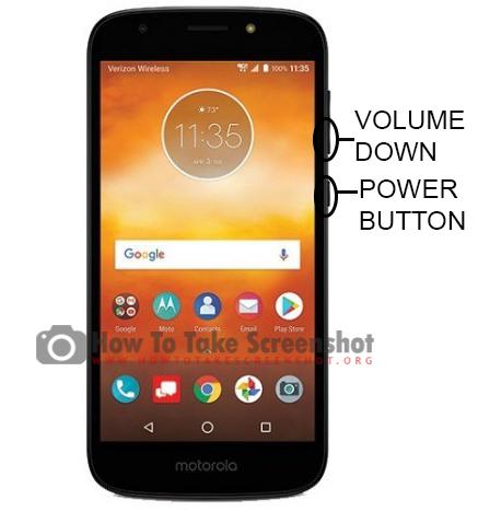 How to Take Screenshot on Motorola E5 Play