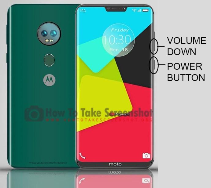 How to Take Screenshot on Motorola Moto G7