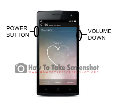 How to Take Screenshot on Oppo Find