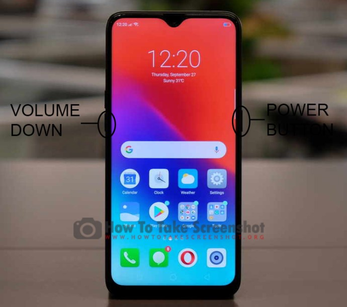 How to Take Screenshot on Oppo Realme 2 Pro