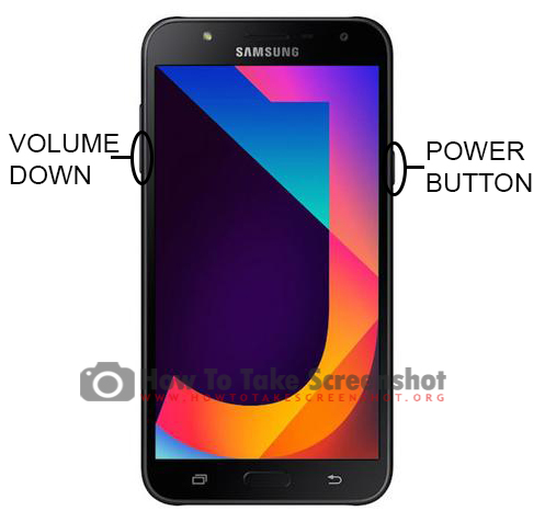 How to Take Screenshot on Samsung Galaxy J7 Nxt