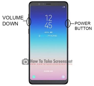 How to Take Screenshot on Samsung Galaxy A6s