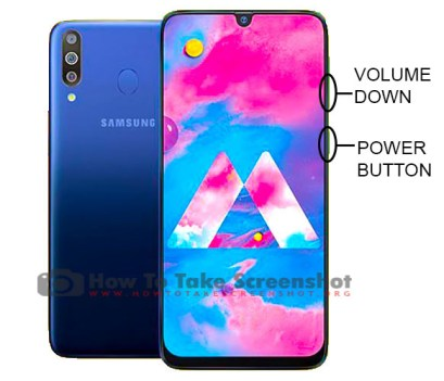 How to Take Screenshot on Samsung Galaxy M30