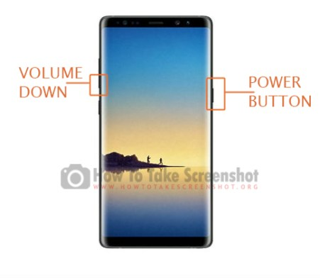 How to take Screenshots on Samsung Galaxy Note 8