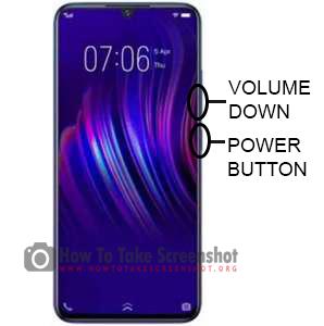 How to Take Screenshot on Vivo Z3i