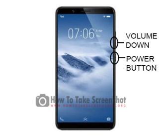 How to Take Screenshot on Vivo Y71