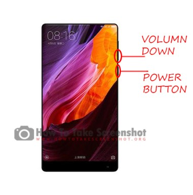 How to Take Screenshot on Xiaomi Mi Mix