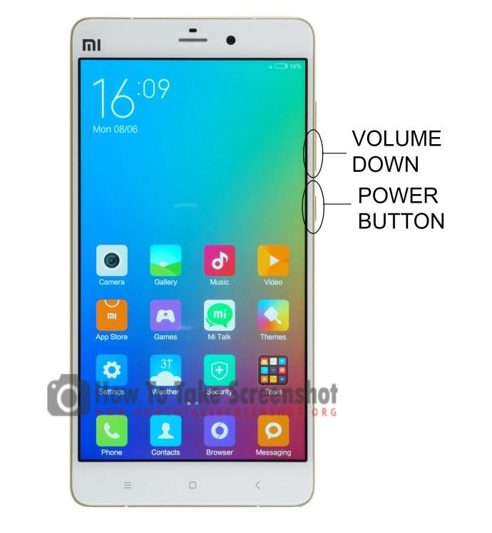 How to Take Screenshot on Xiaomi Mi Note
