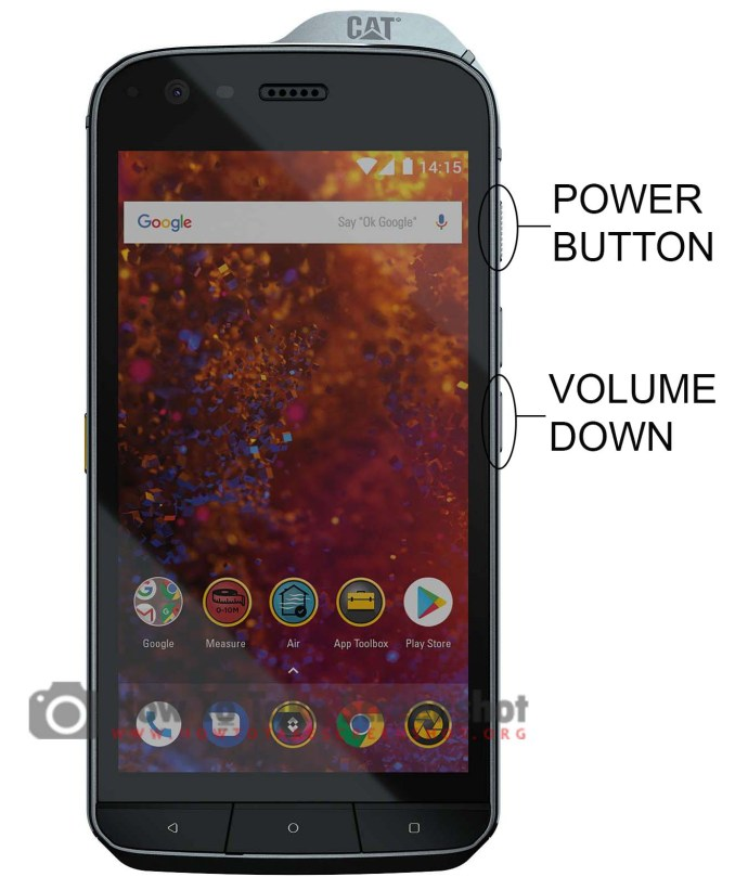 How to Take Screenshot on Rugged Cat S61