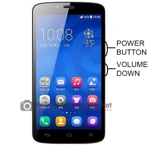 How to Take Screenshot on Huawei Honor 3C