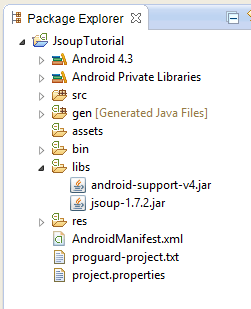 Android Basic JSOUP Tutorial