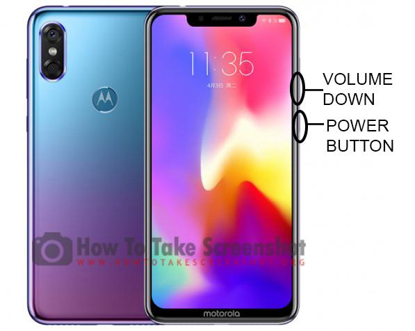How to Take Screenshot Motorola P30
