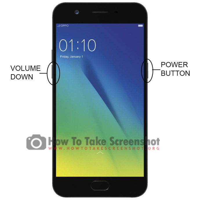 How to Take Screenshot on Oppo A57