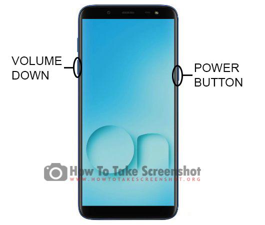 How to Take Screenshot on Samsung Galaxy On6