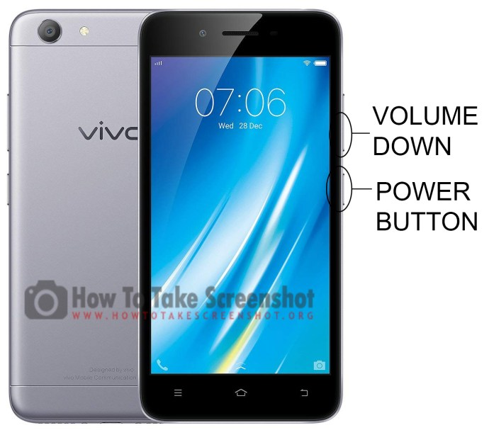 How to Take Screenshot on Vivo Y53