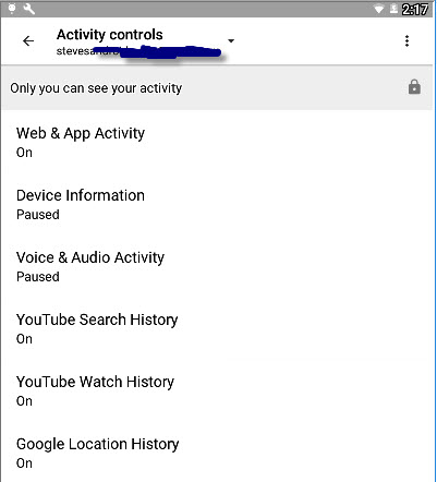 Google-activity-controls
