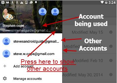 Google-drive-multiple accounts