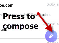 Yahoo-android-compose-email