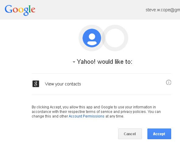Yahoo-gmail-contact-import