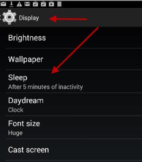 android-sleep-settings