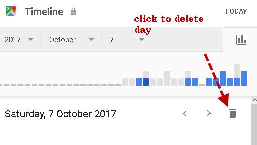 delete-day-location history