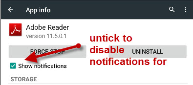 disable-notification-app