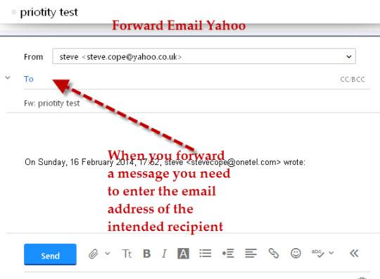 forward-email-yahoo
