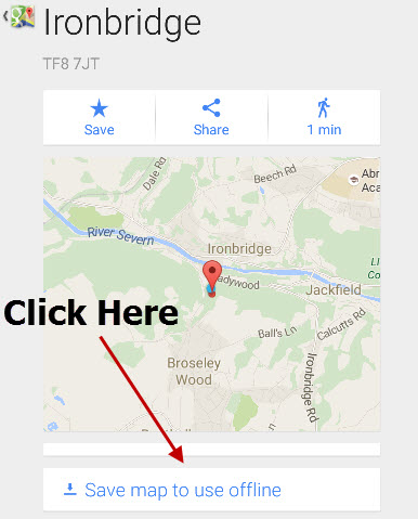 Using Google Maps Offline On Android