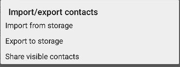 import-export-android-contacts