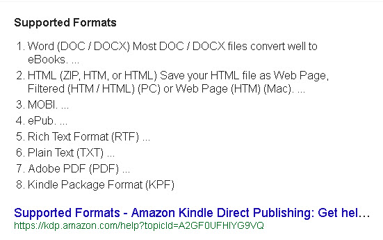 kindle-supported-formats