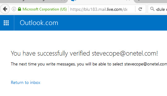 outlook-verified-account